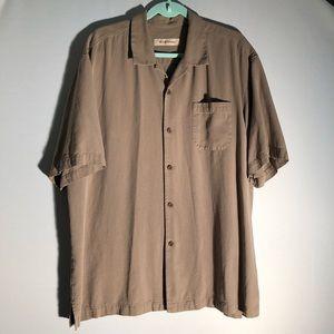 Tommy Bahama Tan Resort Shirt R5